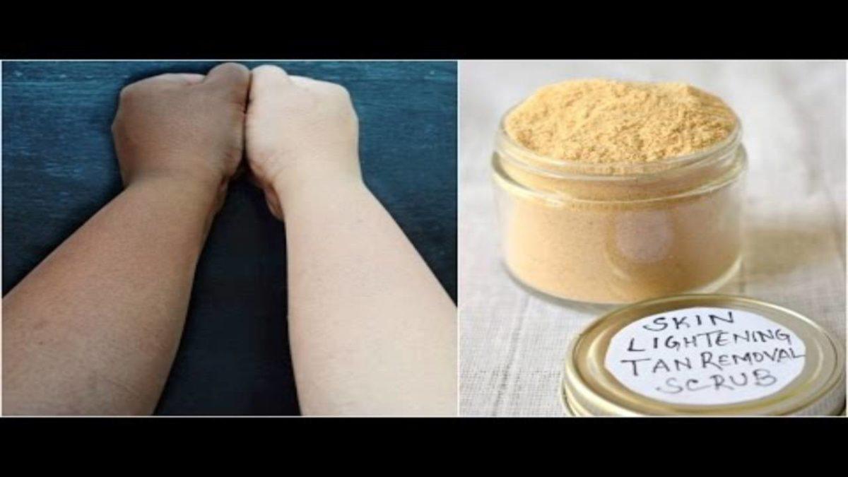 Tan Removal Scrub – Methods of Preparation of Tan Removal Scrub