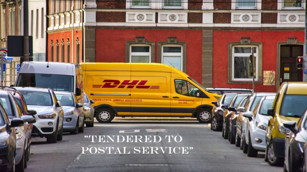 Tender to delivery service provider – What does it mean?