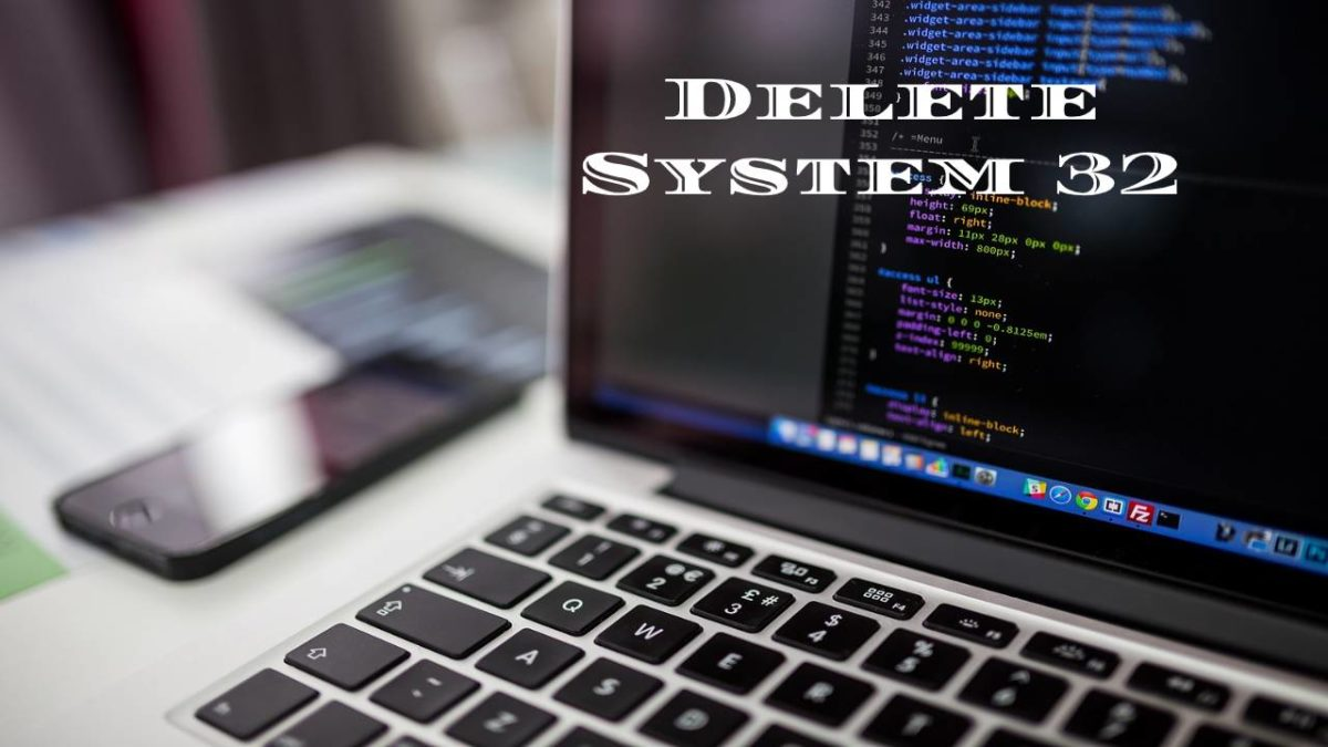System32 – Origin, What happens if you try to delete the System32 folder?